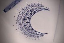 tetování lotos