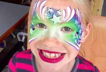Face Painting - Butterflies, Fairies, Angels / by Georgia Henry