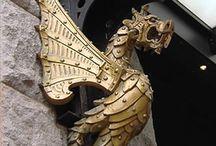 Amo dragão  / Dragões em tudo