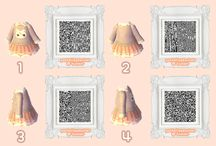 ACNL QR clothing / QR codes for Animal Crossing New Leaf