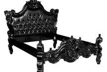 Barock Bettgestelle / Fühlen Sie sich wie ein König in den royalen Barockbetten von Casa Padrino!