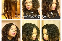 HAIR! / My natural and other styles that I love. / by Paulette Angela