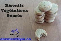 Biscuits Végétaliens Sucrés