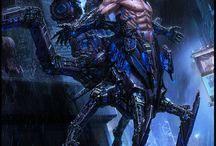 mecha and sci fi
