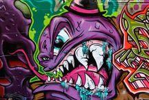city graffitti