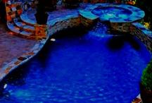pretty pools / by Mikaela 💗🎀💋💎