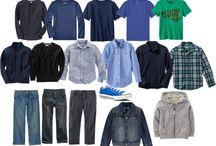 Teen guys wardrobe