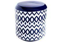 poufs + stools