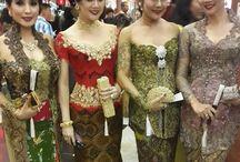kebaya dress modern indonesia weddings