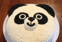 Panda bears Cakes