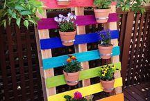 Flower racks