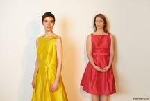 Les robes en soie sauvage d'Emilie Rey / Créations d'inspiration rétro...