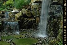 vodopády a jazierka