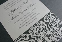 damask wedding ideas / by Tiger Lily Invitations
