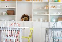 shop interiors and fronts / eye catching design / clever advertising / lovely colours