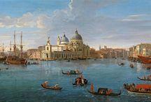 Venice paintings: Van Wittel / Gaspar van Wittel (born Caspar Adriaensz. van Wittel, later also known as Gaspare Vanvitelli, Gasparo degli Occhiali; 1653 – September 13, 1736) was a Dutch Golden Age landscape painter.