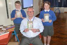 Castlewood School Author Visit Jack Trelawny