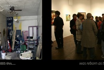 Around the Gallery (people and events) / Action at Manifest across the years.