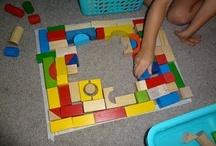 Blocks Area / Toddler, preschool, kindergarten, early elementary block area ideas and layouts.