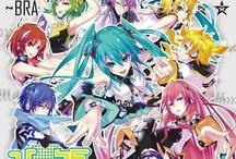 Vocaloid / Vocaloid ミク、ぅか、ふぃかせ、OLIVER、いあ、Rin、Len、かいと、がくぽ、ぐみ、