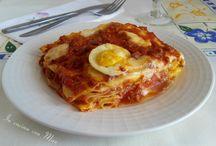 Primi / Primi della cucina tradizionale italiana