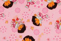Nickelodeon Fabric
