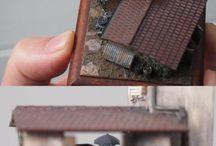 Mini diorámy