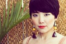 <3 earrings