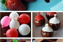 Čokoládové misky