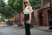 high waisted black pant