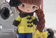 Polymer Clay Dolls - Babes - Girl - Boys