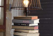 Lampes / lanternes récup