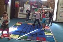 Dalcroze-inspired Classroom / Activities, exercises, games, and more for the Dalcroze-inspired classroom, or for any music classroom integrating Dalcroze-inspired instruction