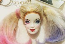 Keychain barbie