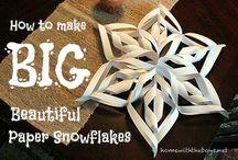 Fiocco di neve-Snowflakes