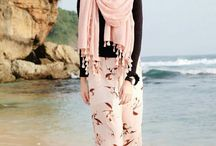 Hijab Beach Outfit