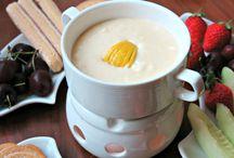 The Tabletop Cook's Lemon Cheesecake Dessert Fondue