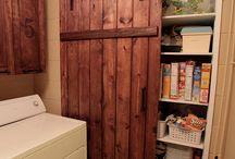 gameroom door / by Tina Bolin