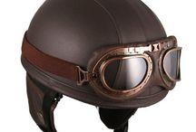 helmy + botky na moto