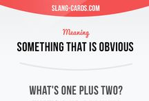 slang and useful expressions