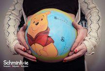 belly paintings