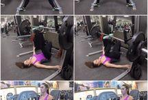 fenék edzés