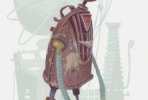 Character Designs Robots