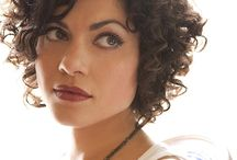 Short curly inspiration / by Tahnia