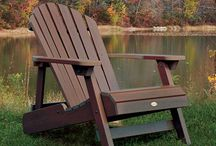 """Highwood Outdoor Furniture / Highwood® synthetic lumber provides you with the """"next generation"""" in outdoor living materials. Breathtaking natural wood-grain beauty combines with ultra low maintenance and longevity. No other ultra low maintenance outdoor product comes as close to the look and feel of real wood."""