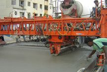 UNiSTEEL RCP 750 Road Project / UNiSTEEL RCP 750 Concrete Paving machine is working on Rail, It can finish the Concrete from 3 meter 21 meter at a time, it can also work on Irrigation Canal