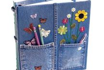 denim bookcover