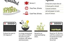 Healthy Cooking Infographics / Here are various ways to prepare our most beloved vegetables in easy-to-follow infographics.