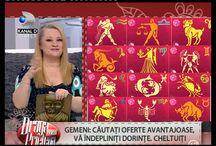 Horoscop / Înregistrări și ilustrații din horoscopul prezentat la TV