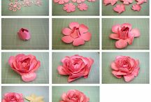 Flower Garden / Paper and crafty flowers of all kinds / by Marilyn DeWulf